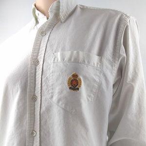 Ralph Lauren Long Sleeve Button Down Embroidered
